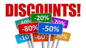 Store Closing Discount